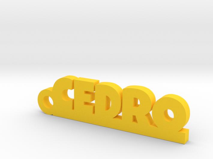 CEDRO_keychain_Lucky 3d printed