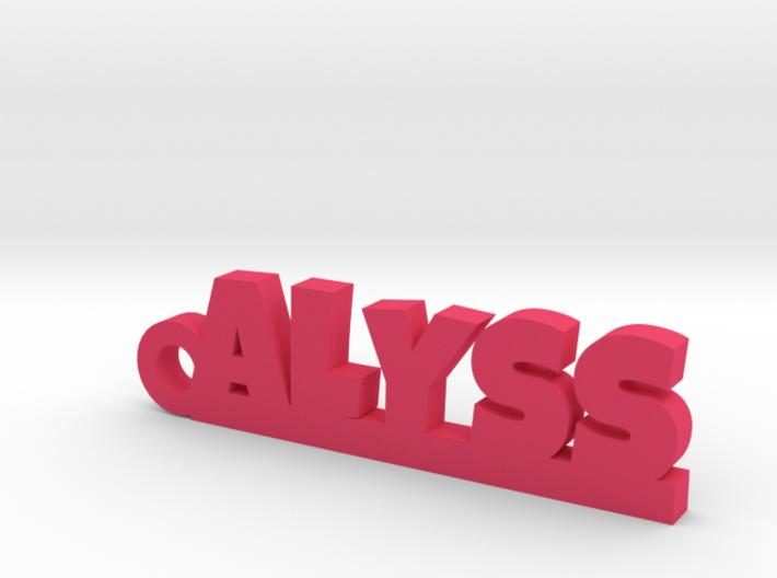 ALYSS_keychain_Lucky 3d printed