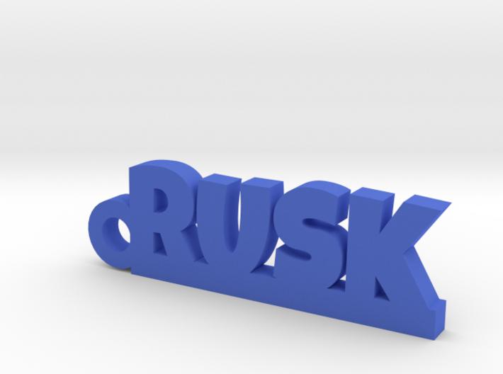 RUSK_keychain_Lucky 3d printed