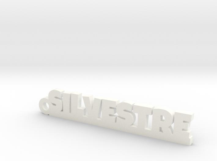 SILVESTRE_keychain_Lucky 3d printed
