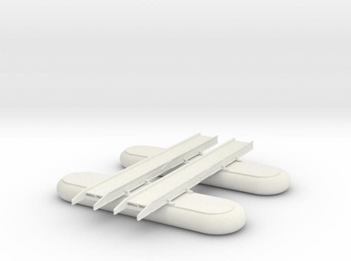 1/87 Scale M2 Pontoon Bridge Section 3d printed