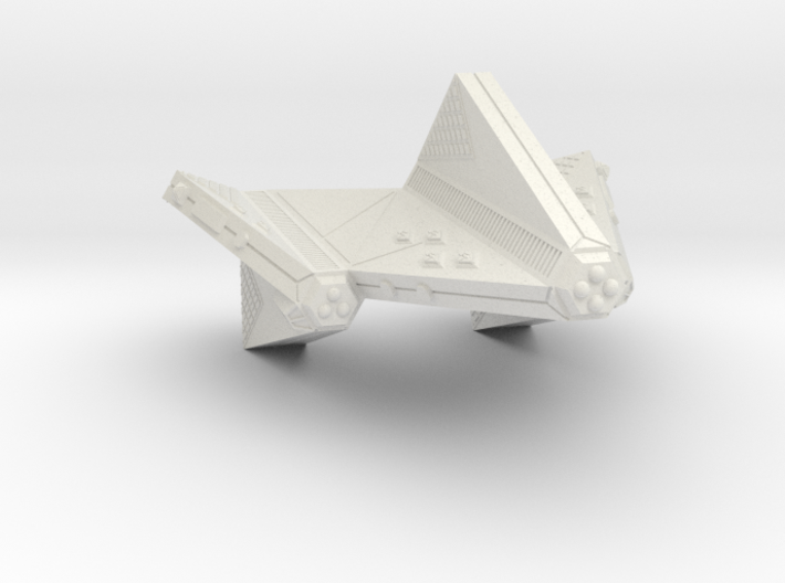 3125 Scale Tholian Dreadnought-Carrier SRZ 3d printed
