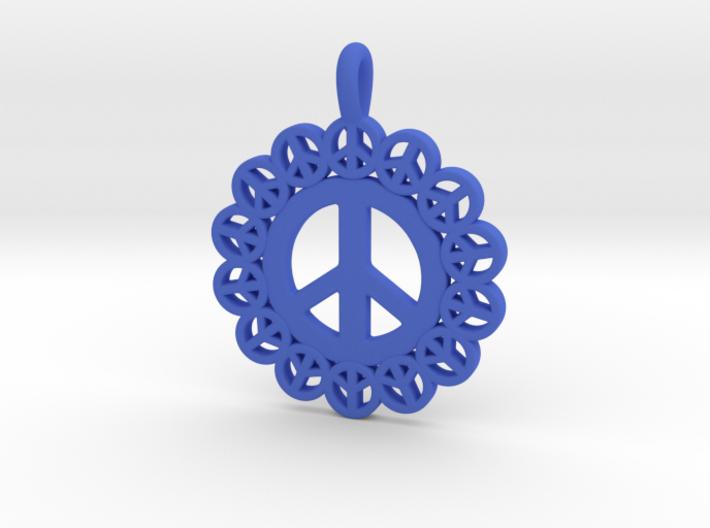 24- PEACE CIRCLES 3d printed