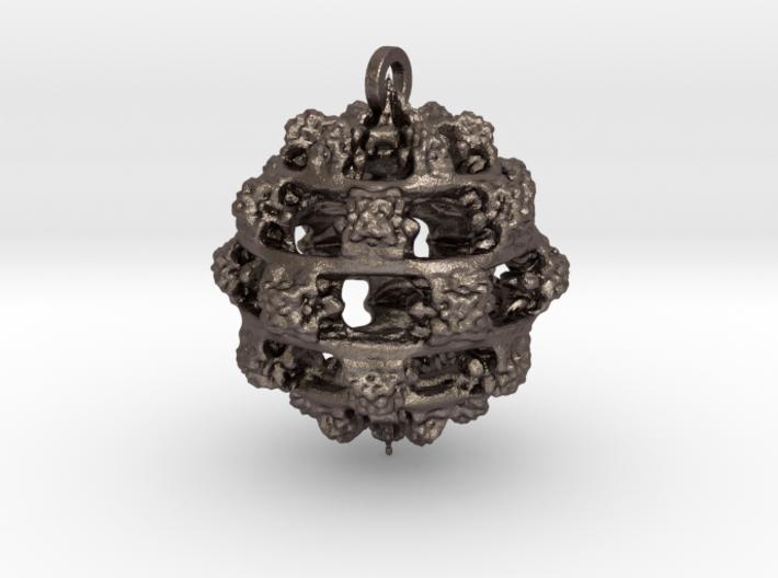 Integer Fractal Pendant 3d printed