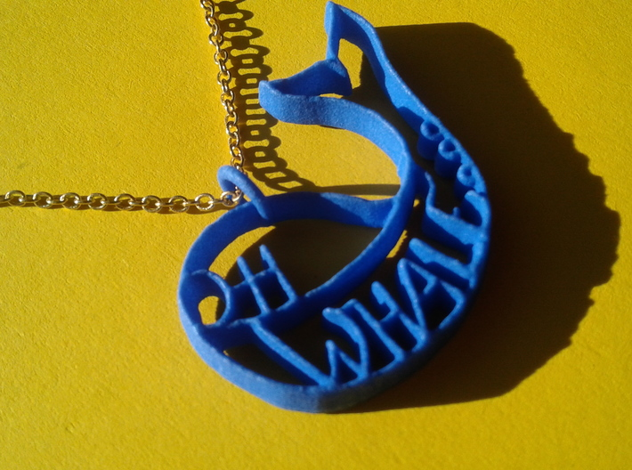Oh whale... 3d printed