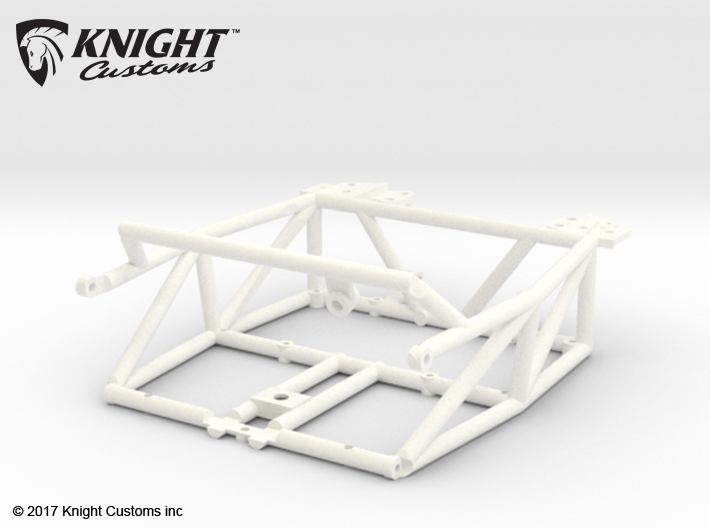 FA20003 Sand Rail Chassis Rear 3d printed Chassis REAR ONLY, you will need Chassis FRONT to compete (sold separately).