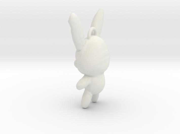 Sucker Punch Babydoll Gun Charms: Battle Bunny 3d printed