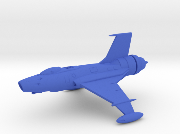 Sabre Space Fighter 3d printed