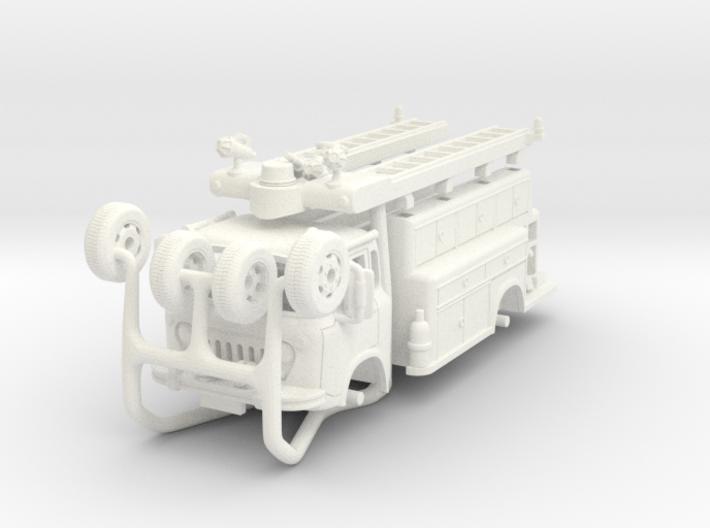 1/87-scale World Fair Pumper 3d printed