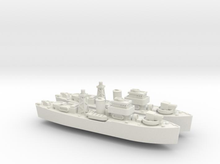HMNZS Kiwi 1/1800 3d printed