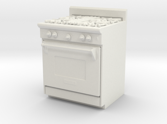 Printle Thing Gas Stove - 1/24 3d printed