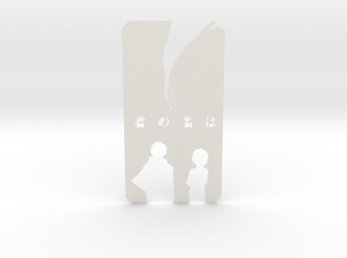 your name kimi no nawa (kiminonawa) bookmark 3d printed