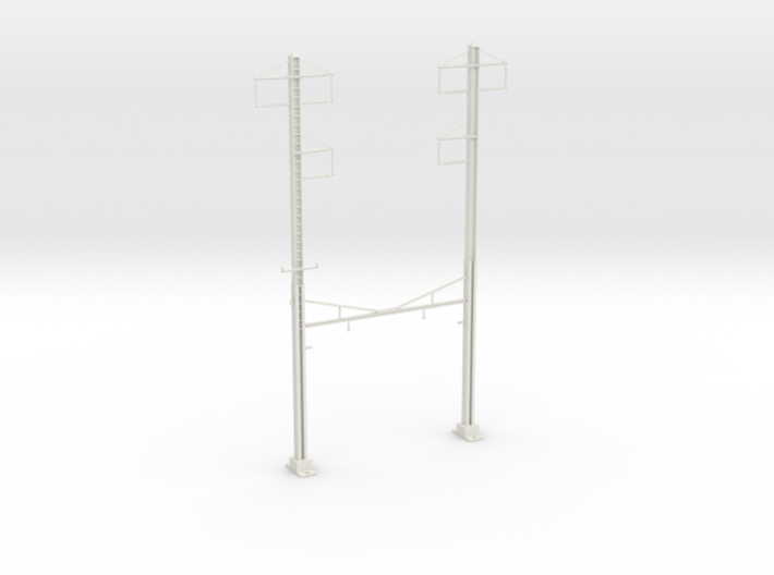 PRR CH 3PHASE+3PHASE V2 CATENARY STEADY 3d printed