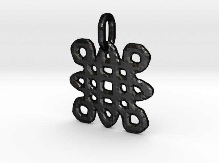 Samhain Glyph Charm 3d printed