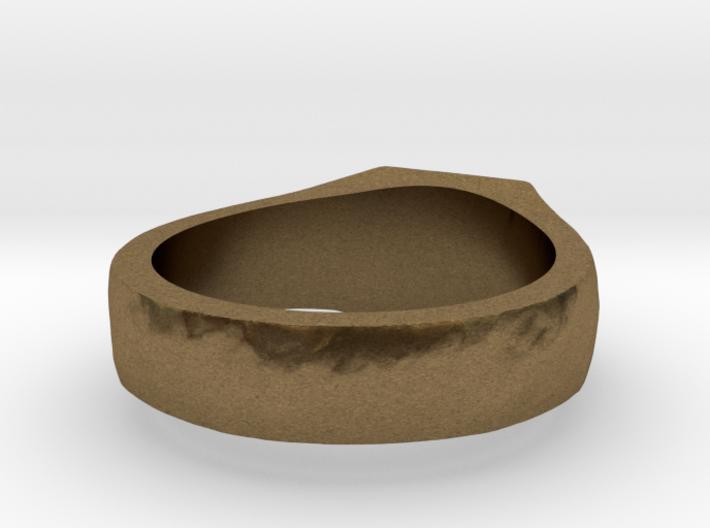 Dota2 Signet Ring 3d printed