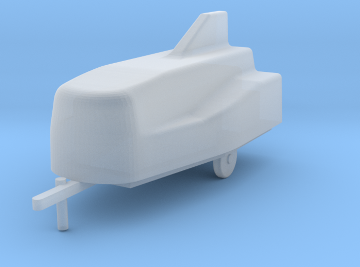 Car trailer BD-5, scale 1/144 3d printed