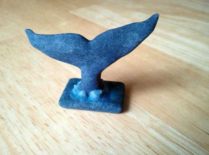 Whale Fluke Breaking Water 3d printed Pre-polished model