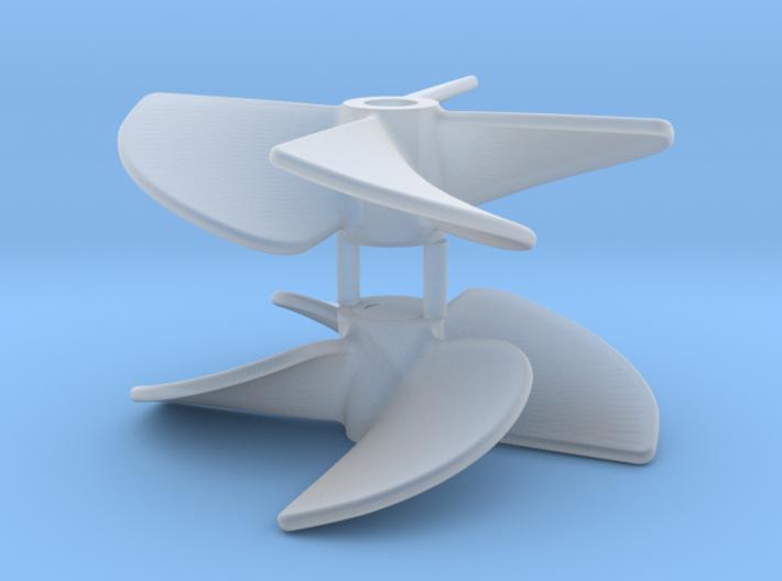 SHOALBUSTER 2609 propeller (2 pcs) 3d printed