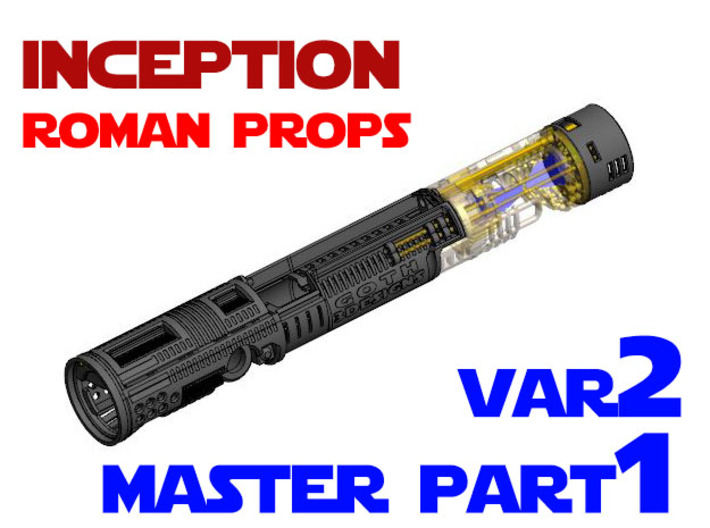Roman Props Inception - Master Chassis Part1 Var2 3d printed