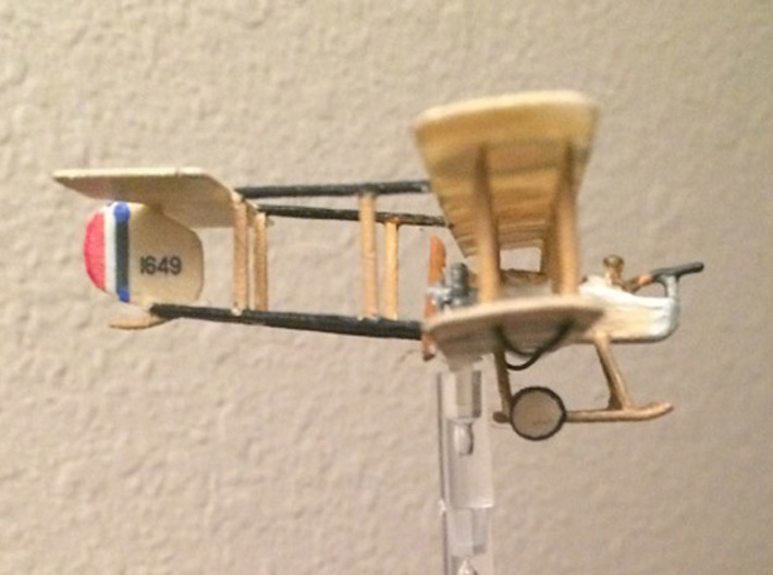 "Vickers F.B.5 ""Gunbus"" 3d printed Photo Courtesy Darryl H."