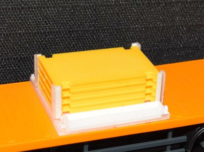 1/87 Kranplattentransportgestell 3d printed