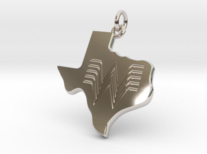 Whataburger Texas Pendant Charm 35mm 3d printed