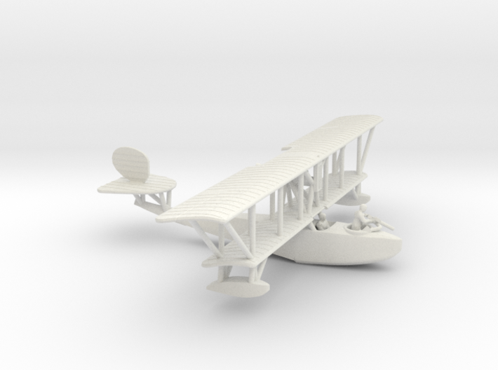F.B.A. Type H Flying Boat 3d printed 1:144 FBA Type H in WSF