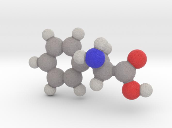 L-phenylalanine 3d printed
