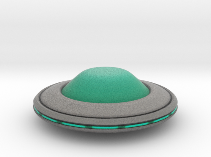 Invasion Saucer 3d printed
