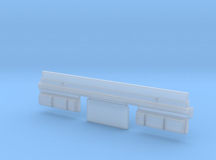 Simensays Tamiya Hilux 4x4 Rear Lights & Plate 3d printed
