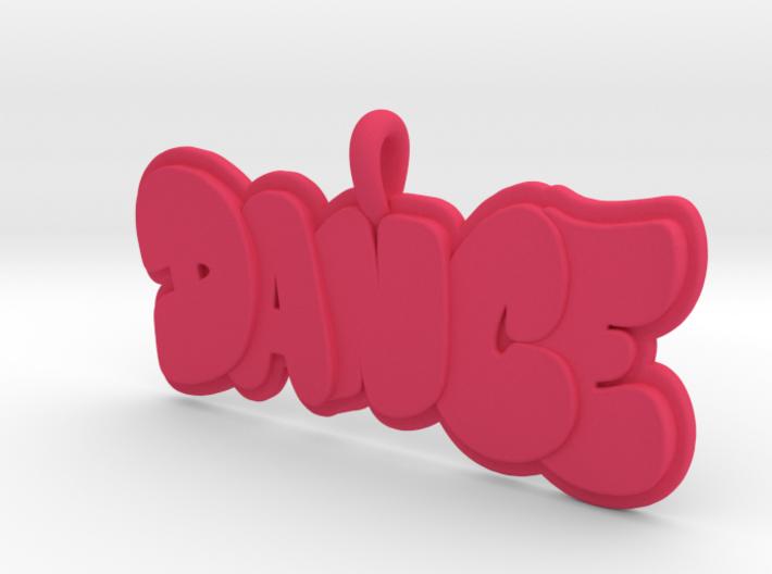 29- DANCE BUBBLE LETTERS 3d printed
