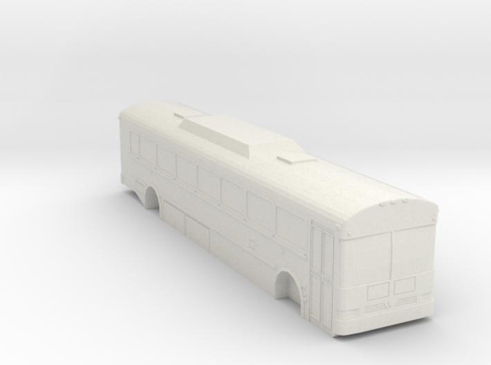 HO scale coach/shuttle bus 2009-2016 IC RE300 long 3d printed
