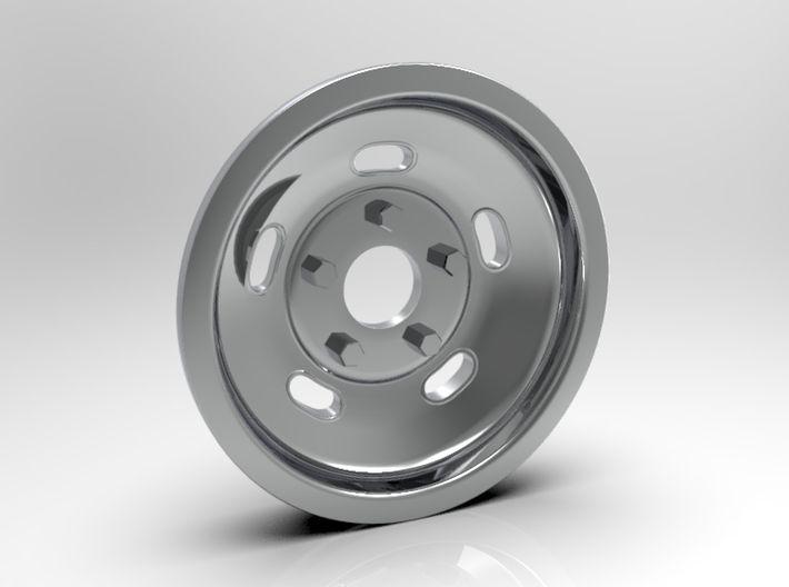 1:8 Front Indy Style Kidney Bean Wheel 3d printed Computer Render Shown