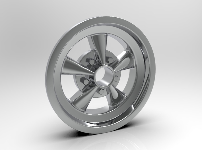1:8 Front Crager SS Wheel 3d printed Computer Render Shown