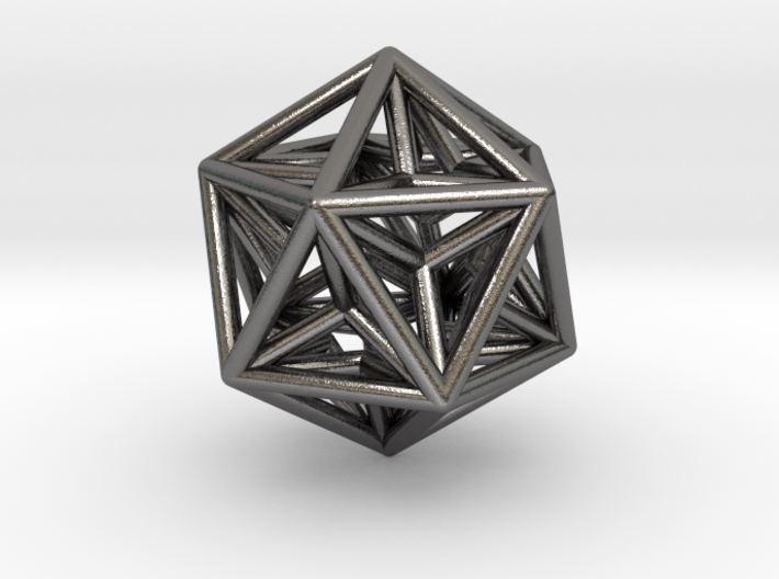 0416 Great Dodecahedron E (d=3cm) #001 3d printed