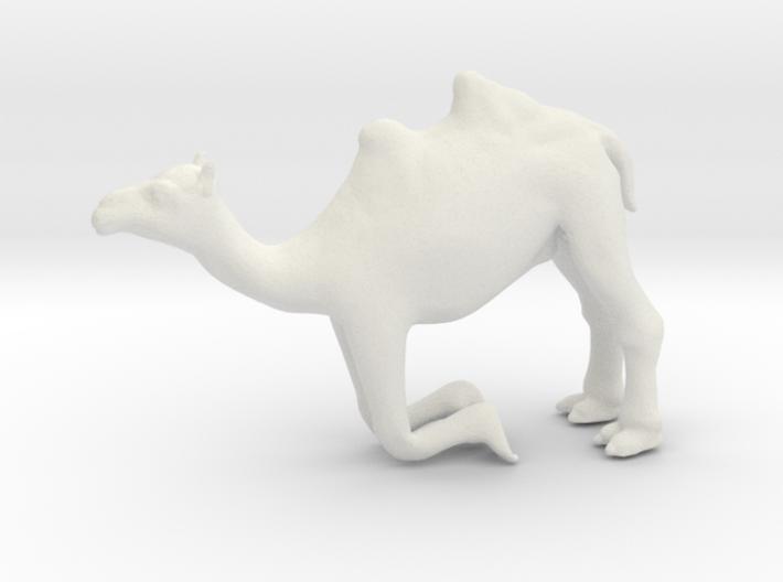 Printle Thing Camel Kneeling - 1/48 3d printed