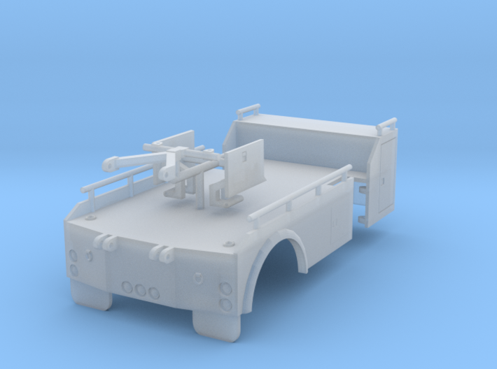 1/64th Holmes Single Axle Tow Truck Wrecker Bed 3d printed