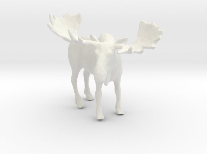 Printle Thing Moose - 1/24 3d printed