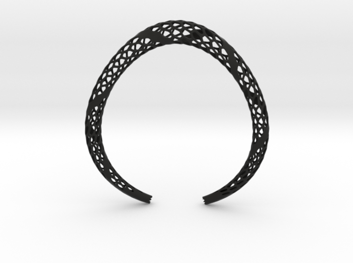 D-Strutura Choker, Medium Size. Strong, Bold, Exce 3d printed