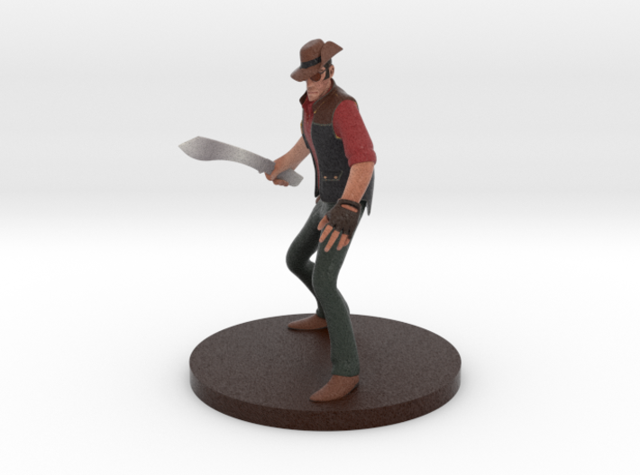 Team Fortress 2 ® Sniper figurine 3d printed