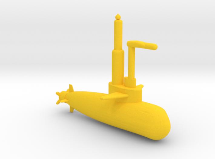 Submarine 3d printed