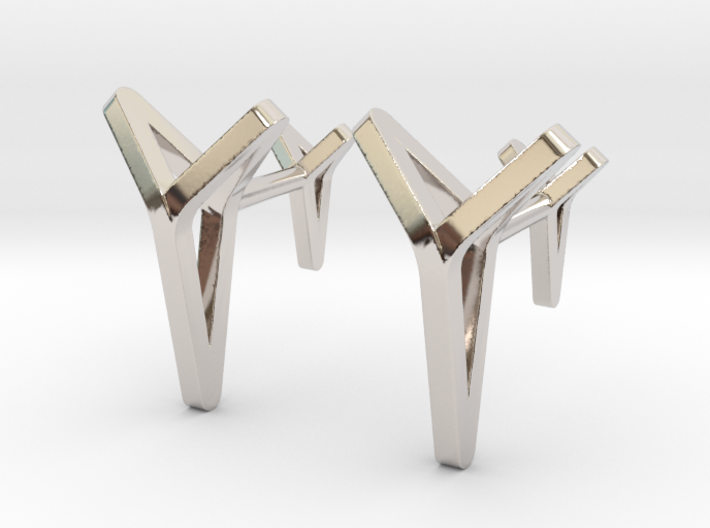 YOUNIVERSAL C. Cufflinks. Pure Elegance for Him 3d printed