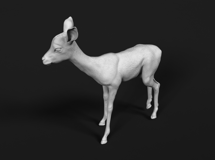 Impala 1:87 Standing Fawn 3d printed