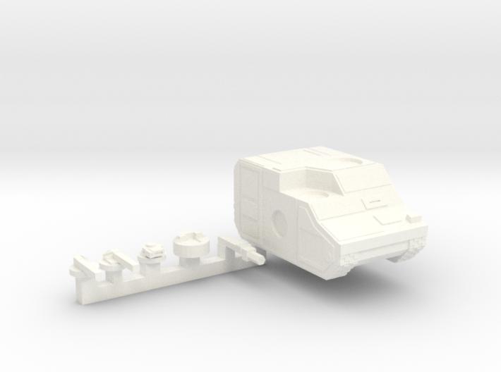M3L 'Marauder' Tank 3d printed