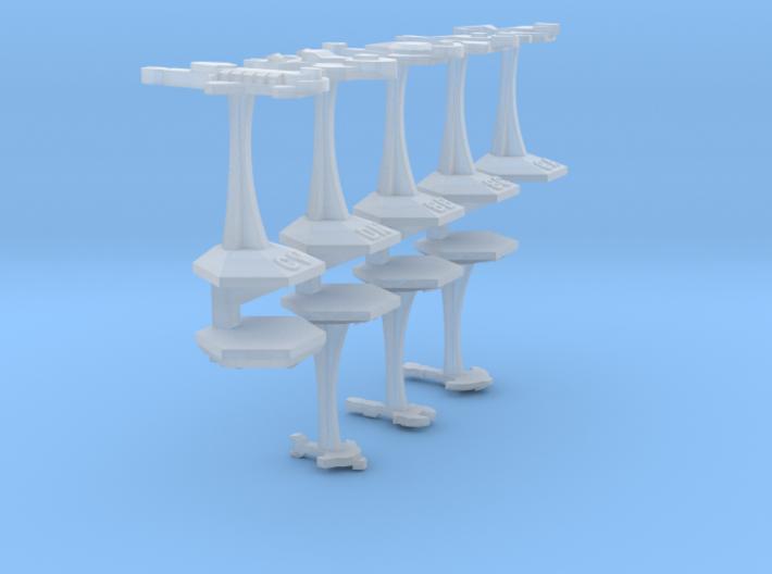 MicroFleet Cardashian Sampler 3d printed