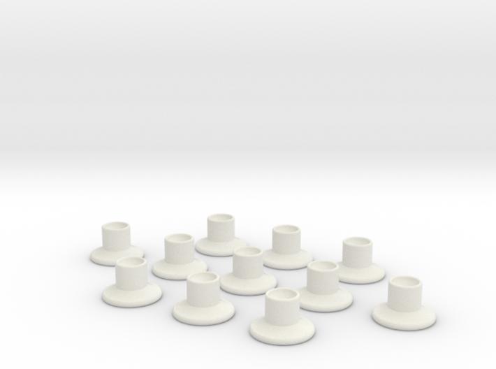 HIC Nipple V2 x11 3d printed