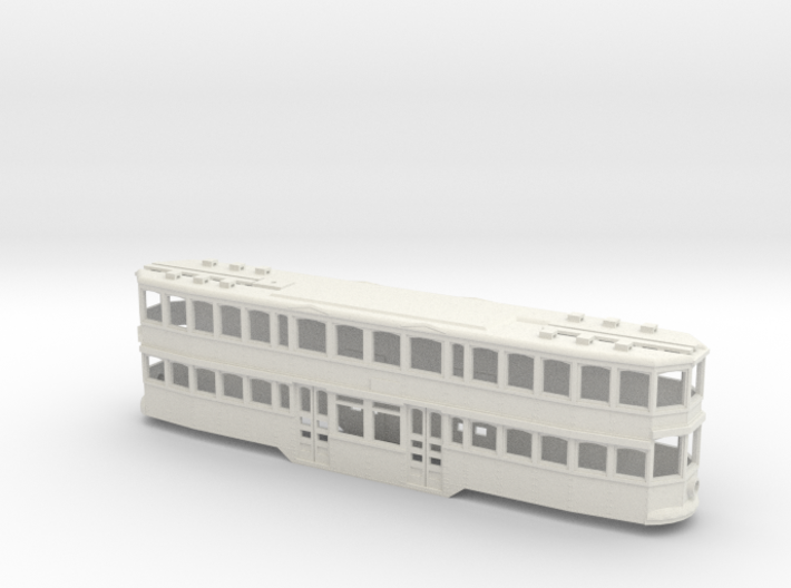 Double Deck trolley PittsBurgh 3d printed
