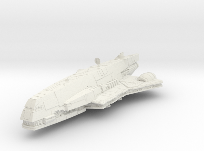 1/350 Imperial Assault Carrier / Gozanti 3d printed