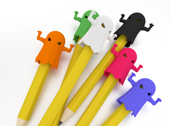 Halloween Pencil Pals - The Ghoul 3d printed