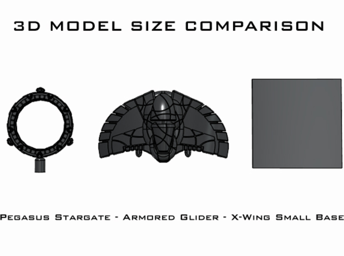 Armored Glider: 1/270 scale 3d printed
